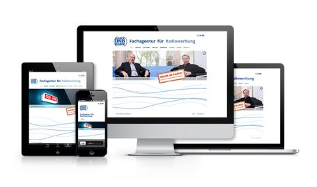 Responsive showcase blanck und blanck website
