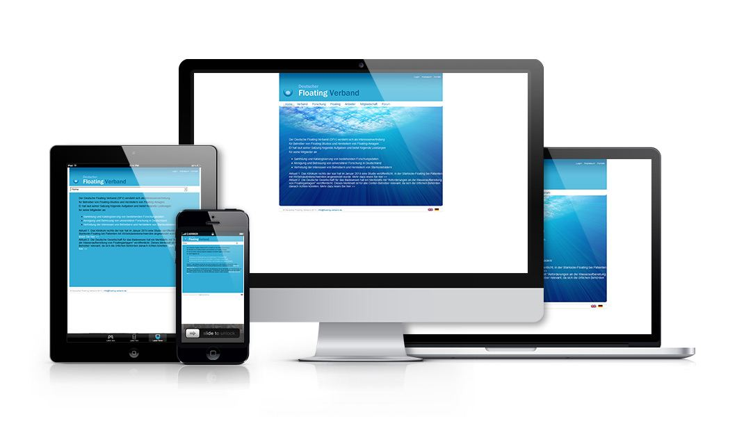 Responsive-showcase-dfv website