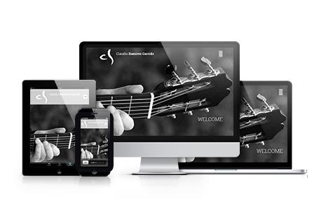Website Screenshot garrido ramirez