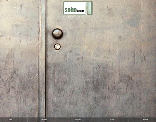 screenshot-www soho-altona de website