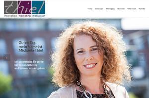 Thile Innovation Screenshot Website