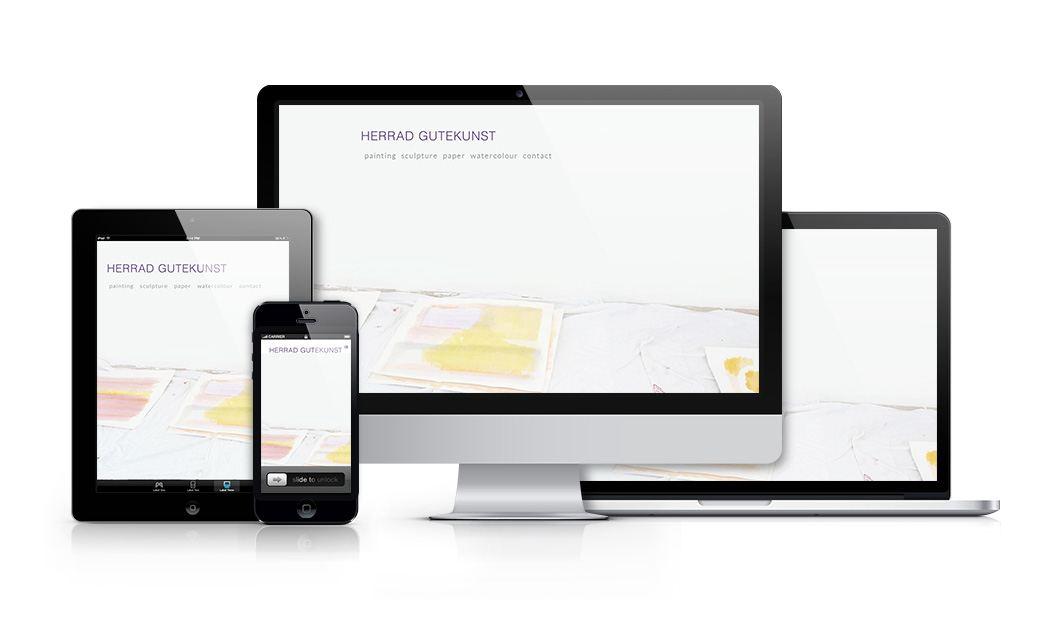 Herrad Gutekunst Website