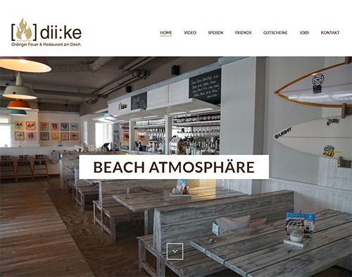 diike showcase responsiv