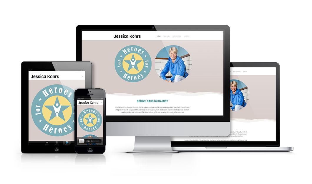 Professionelle-Homepage-jessica-kohrs
